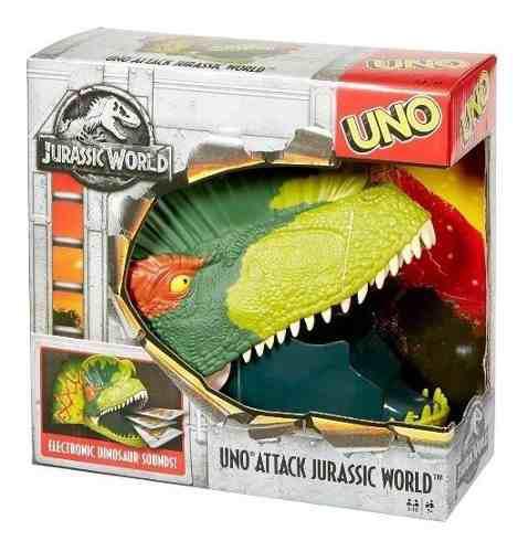 Mattel Juego Uno Dino Attack Jurassic World