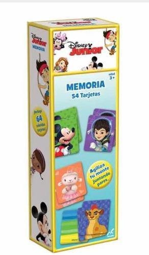 Memoria Memorama Disney Junior 54 Piezas Nuevo Con Envio