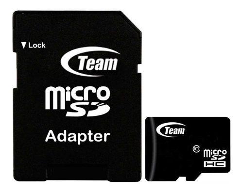 Memoria Micro Sd 32gb Teamgroup Clase 10 Full Hd Celulares