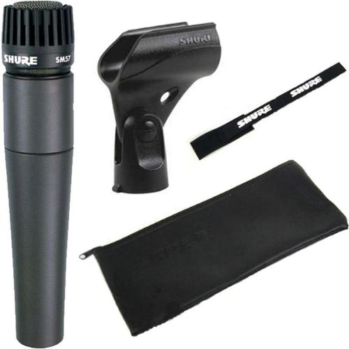 Micrófono Shure Sm57 Lc Dinámico Para Instrumentos