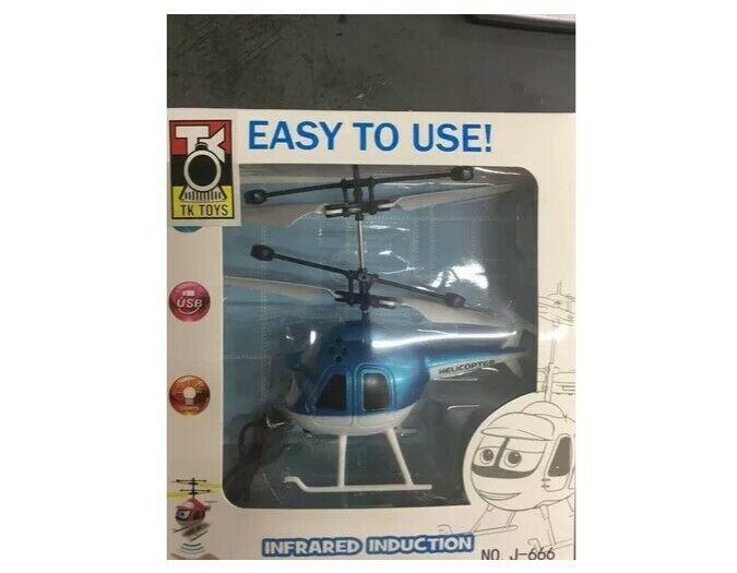 Mini Helicóptero Dron muy divertido Vuela En El Aire