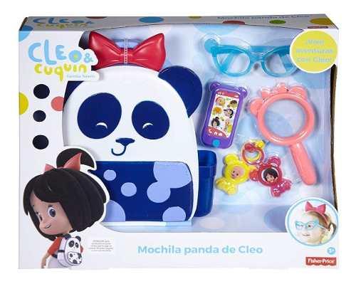 Mochipanda Cleo Familia Telerin Coquin Mochila Fisher Price