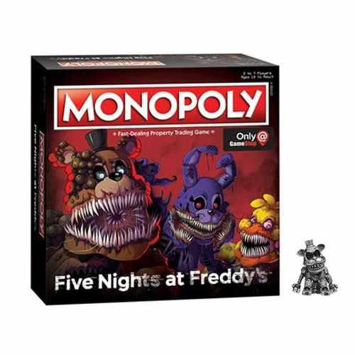 Monopoly Five Nights Freddy - Juegos De Mesa, Disponible Dhl