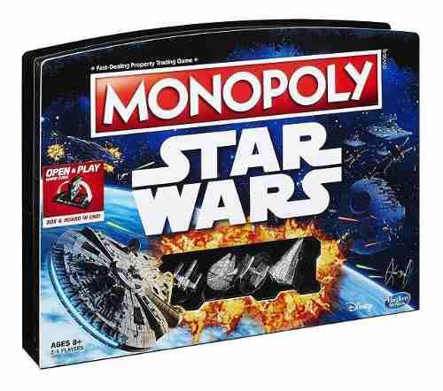 Monopoly Star Wars Edition Disney Hasbro Original