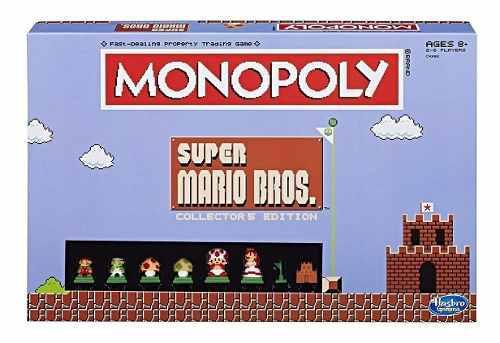 Monopoly Super Mario Bros Edición De Colección Inglés