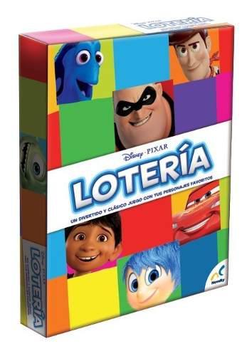 Novelty Disney Pixar Loteria Con Personajes Toy Story 4