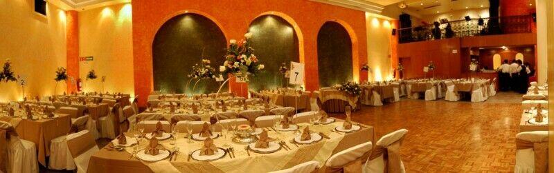Salones y jardines para fiestas en Coyoacan