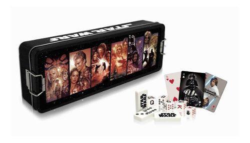 Set De Juegos Star Wars Dominó Póker Dados Nuevo Envío
