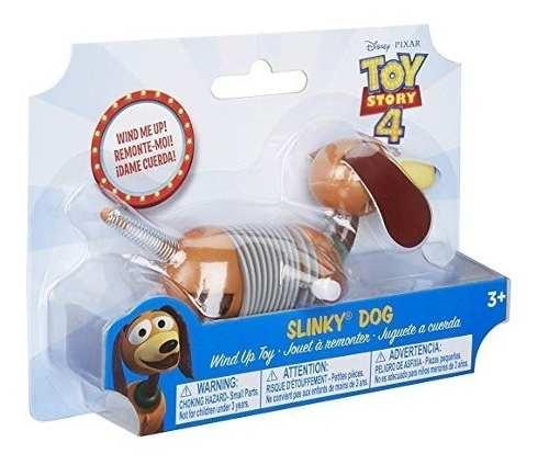 Slinky Dog Disney Pixar Toy Story 4 Wind Dog Juguete Cuerda