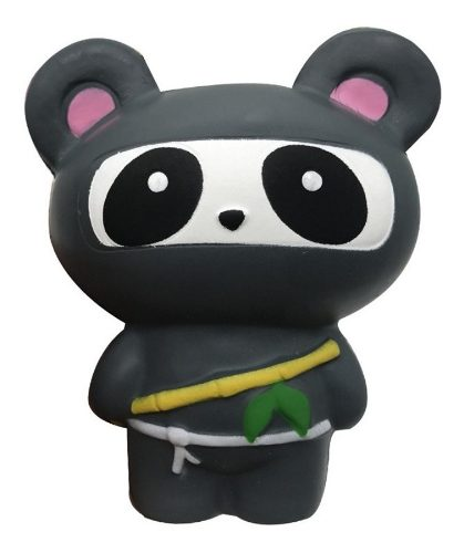 Squishy Kawaii C/ Aroma: Panda Ninja Juguete Anti Estrés