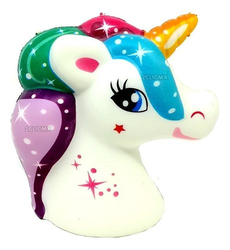 Squishy Kawaii Juguetes Unicornio Cabeza 1 Pieza