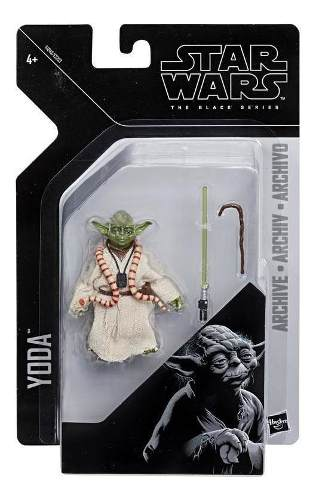 Star Wars E Star Wars Black Series Gr Yoda Juguete Hasbr