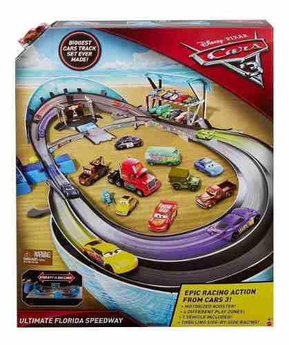 Superpista Carreras Florida Cars 1.50 Cm Mattel
