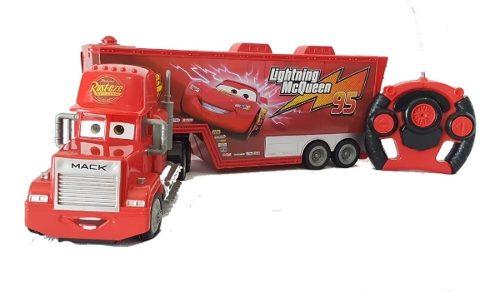 Trailer Gigante Mack Cars De Control Remoto Envio Gratis Msi