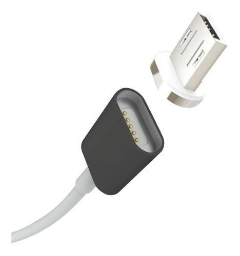 Cable Cargador Magnetico Micro Usb V8 Android Samsung Eg