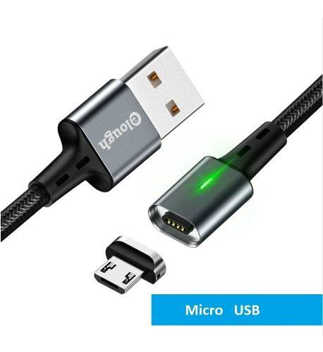 Cable Magnetico Carga Rapida 3.0 Y Datos Micro Usb Android