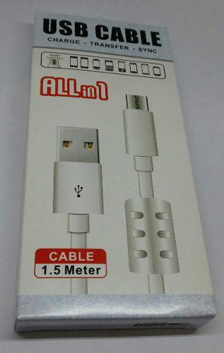 Cable Usb A V8 Con Regulador De Voltaje Modelo Ep25357