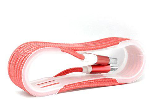 Cable Usb A V8 Tipo Agujeta Treforzado Puntas Metalicas
