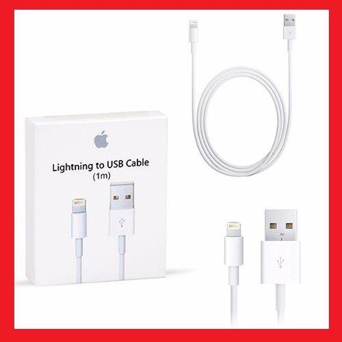 Cable Usb Apple iPhone 7 7+ 6s 6 6+ 5 Plus iPod iPad Mini 1m