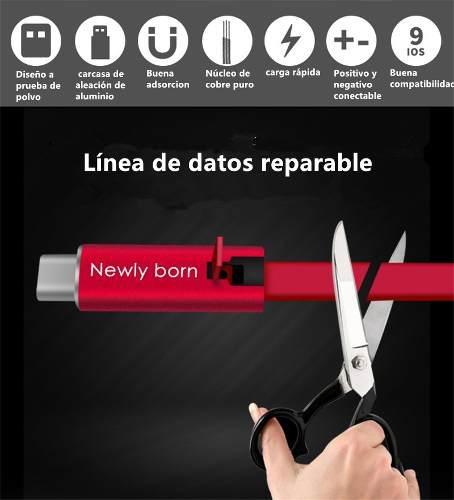 Cable Usb Tipo C Carga Rápida Y Reutilizables
