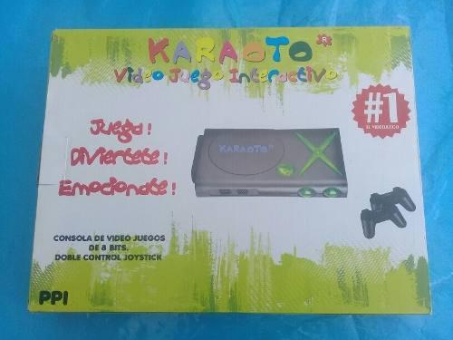 Consola De Video Juegos De 8 Bits Doble Control Joystick