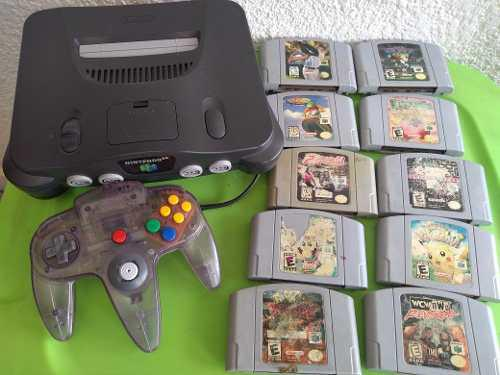 Consola Nintendo 64 Videojuego Clásico Original Mario Party