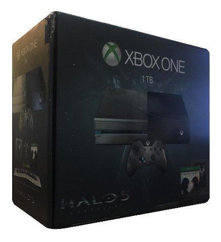 Consola Xbox One Edicion Halo / Memoria De 1 Tb + Videojuego