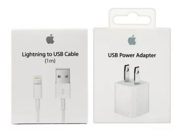 Cubo Y Cable 100% Original iPhone 5/6/7/8/x iPod Mayoreo