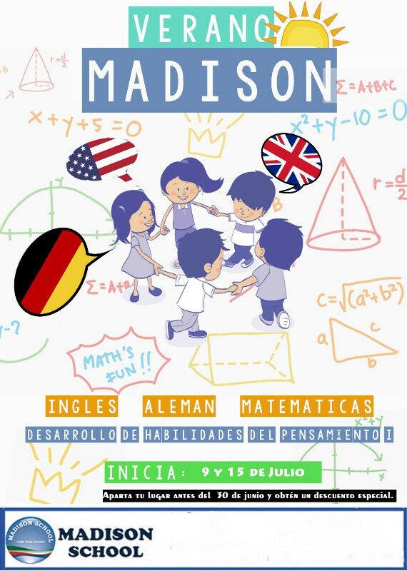 Cursos de Verano , inglés, alemán, matematicas