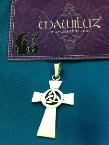 Dije Cruz Celta Mawiluz Wicca Celta Bruja