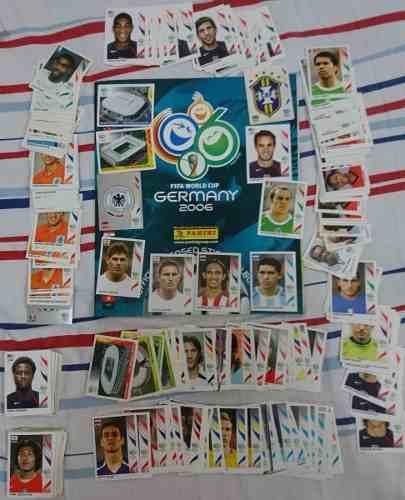 Estampas Panini Mundial Alemania