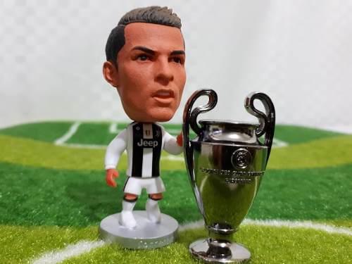 Figura Cr7 Cristiano Ronaldo Incluye Copa Champions League