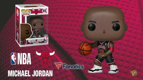 Funko Pop Michael Jordan 55 Exclusivo Nba Chicago Bulls
