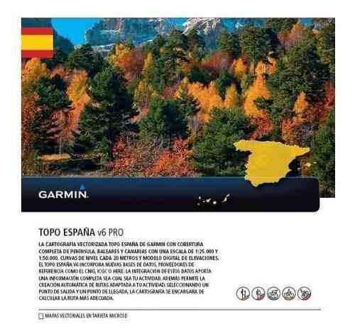 Garmin Topo España Descargable