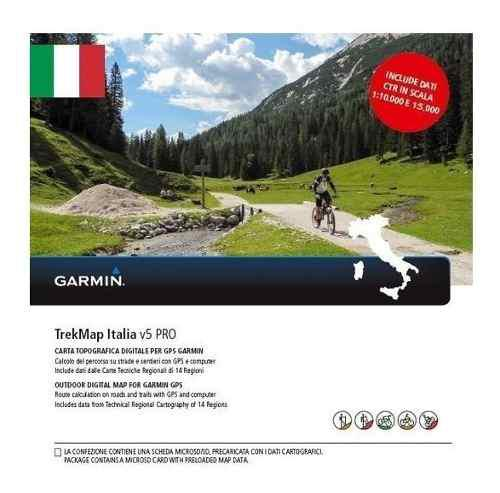 Garmin Topo Trekmap Italia Descargable