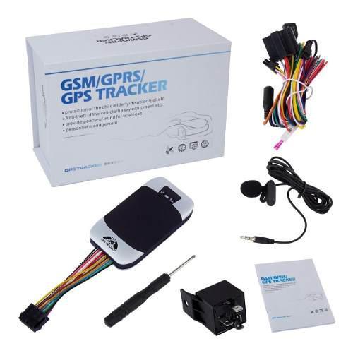 Gps Tracker Localizador Satelital Contra Agua Para Auto Moto