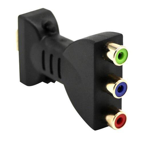 Hdmi Macho A 3 Rca Adaptador De Audio Y Video Conector Rgb