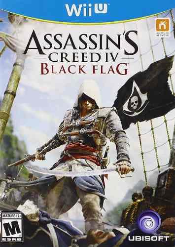 Juego Assassins Creed 4 Black Flag Negra Para Nintendo Wii U