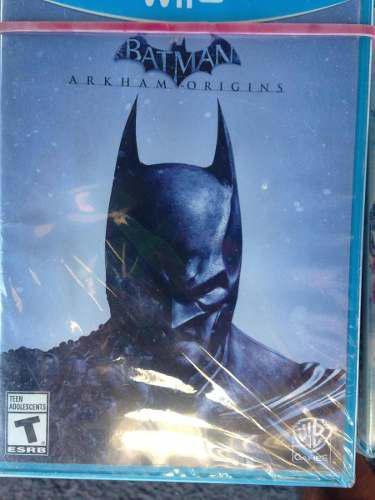 Juego De Batman Para Nintendo Wii U Envio Gratis
