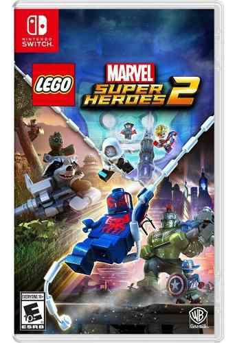 Juego Lego Marvel Super Heroes 2 Nintendo Switch Nuevo Orig.