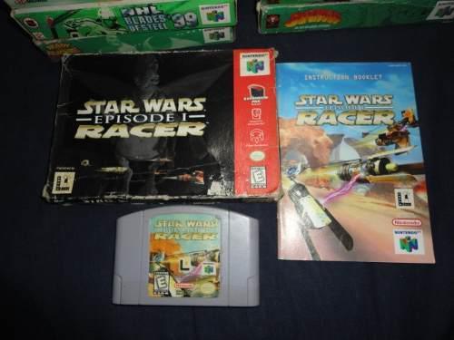 Juego N64 Star Wars Episode 1 Racer