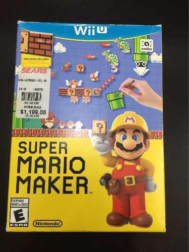 Juego Para Wii U, Súper Mario Maker