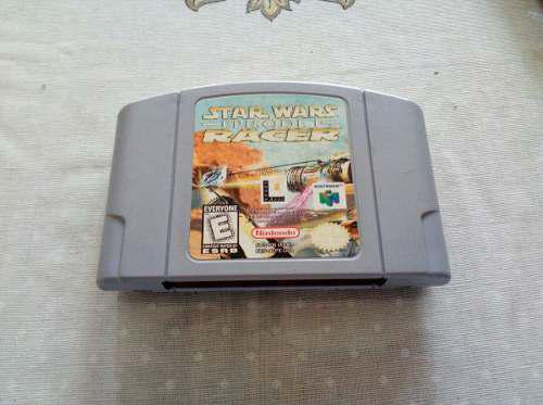 Juego Star Wars Episode 1 Racer Nintendo 64 N64