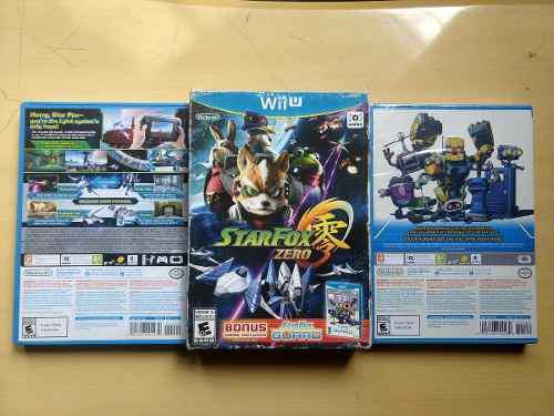 Juegos Wii U Star Fox Zero Edición 2 Discos