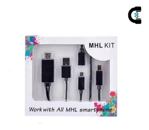 Kit Mhl Cable Adaptador Micro Usb V8 A Hdmi - Envío Gratis