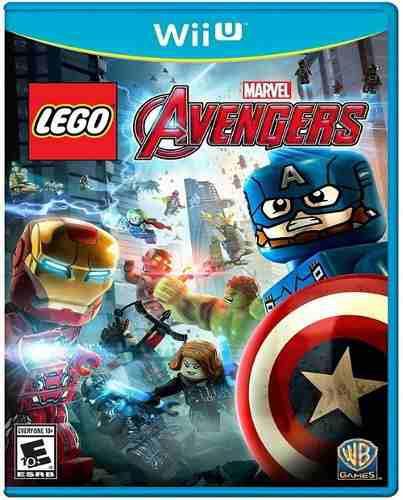 Lego Marvel Avengers Nintendo Wii U Nuevo Y Sellado Juego