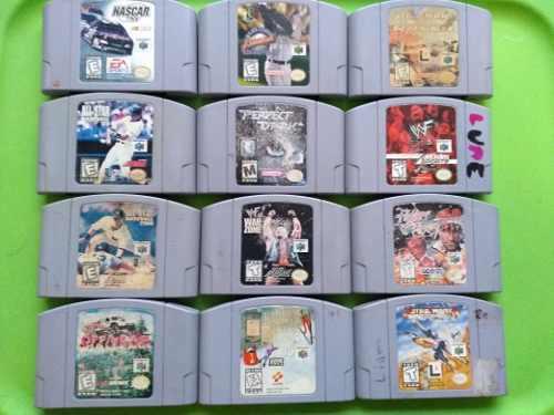 Lote 12 Juegos Nintendo 64 Envio Gratis
