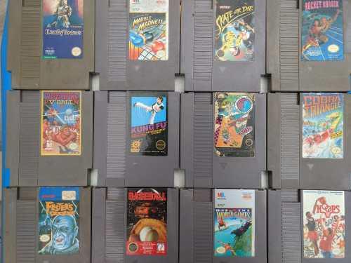 Lote De 12 Juegos Nintendo Nes