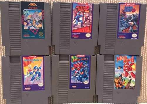 Lote De 6 Megaman De Nes, 17 Juegos De Snes + Regalo Gratis