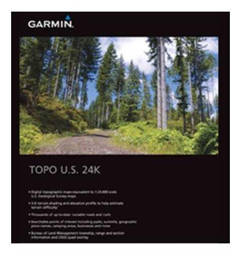 Mapa Garmin Topo 24k Southwest Descargable